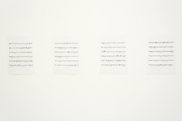 Pierre Huyghe, 'Silent Score', 1997, Drawing, Collage or other Work on Paper, Pencil on printed paper, Beirut Art Center