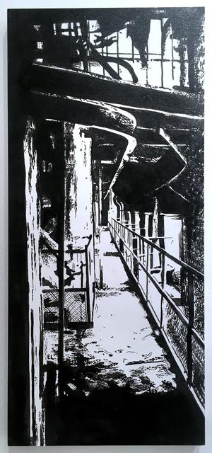 , 'Rails,' 2019, Deep Space Gallery