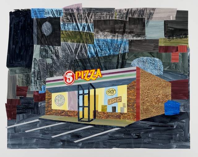 , '$5 Pizza, South St. Paul,' 2017, Highpoint Editions