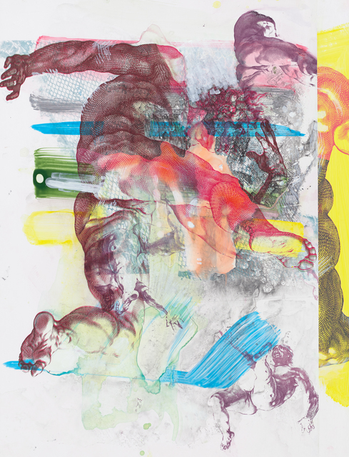 , 'corpus transludi B5,' 2017, Mai 36 Galerie