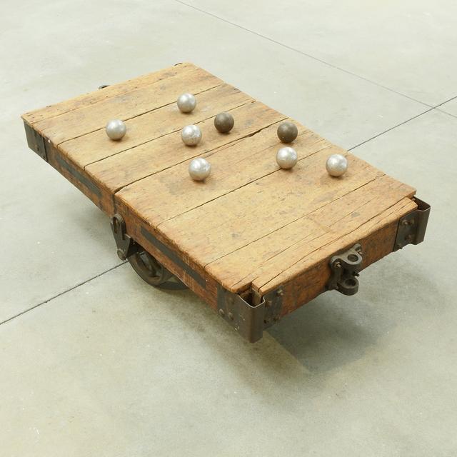 , 'Equilibre I,' 1990, di Rosa