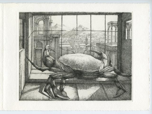 , 'Le Crabe devant la ville,' 1980, Childs Gallery
