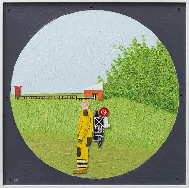 , 'Figur i sommerlandskap I,' 2015, OSL Contemporary