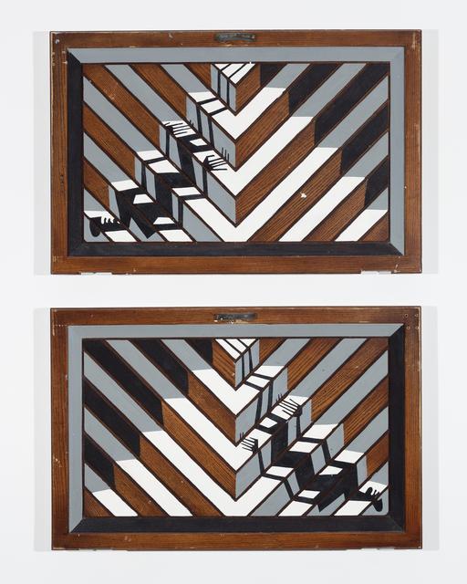 , 'Two Shadows Descending Ziggurat,,' 2017, Ki Smith Gallery