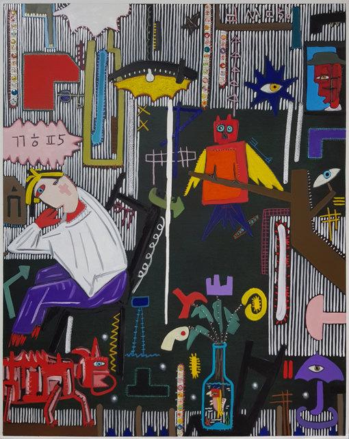 , 'Black Series   A message in the dark,' 2018, Crossing Art