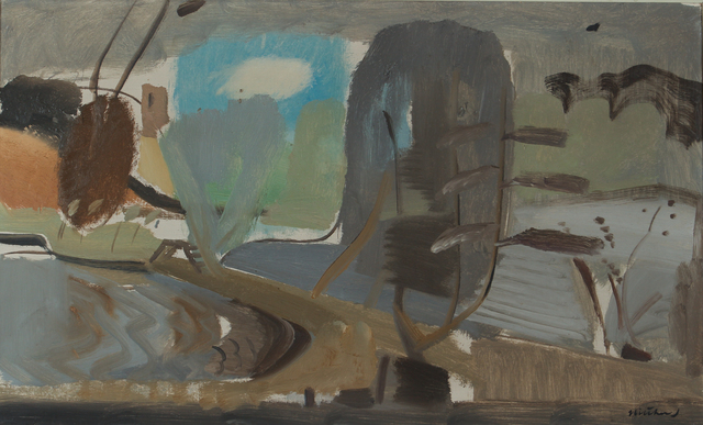, 'Mill Pool , December Wind,' 1952, Osborne Samuel