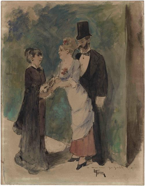 , 'Au théâtre, l'ouvreuse,' , Stoppenbach & Delestre