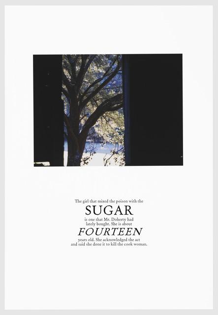 , 'SUGAR,' 2016, Arnika Dawkins Gallery