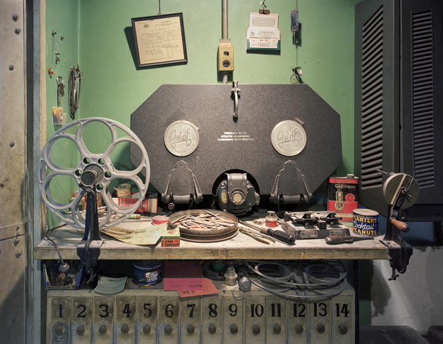, 'Film Projection Equipment, Harrisburg State Hospital, Harrisburg, PA,' 2005, Benrubi Gallery