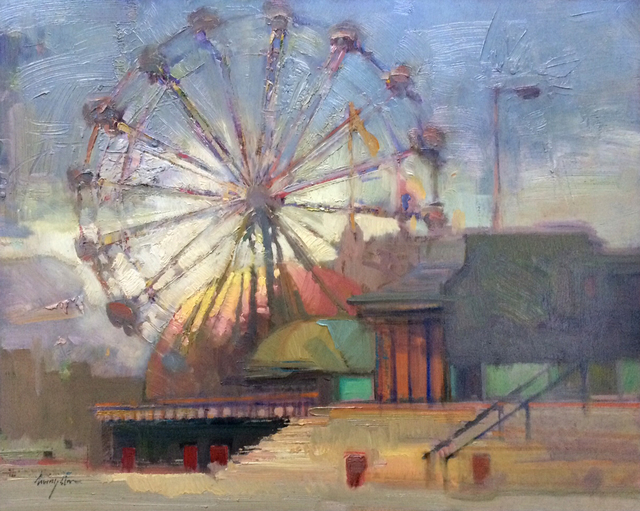 ", '""Morning Boardwalk"",' 2018, Bonner David Galleries"