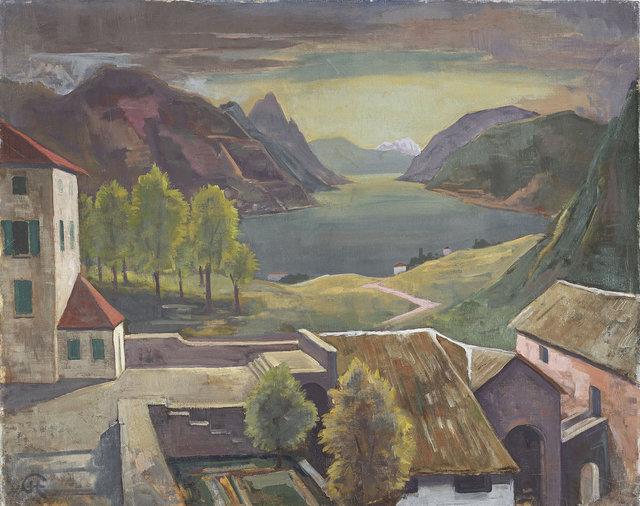 , 'Montagnola (Tessin),' ca. 1930, Ludorff