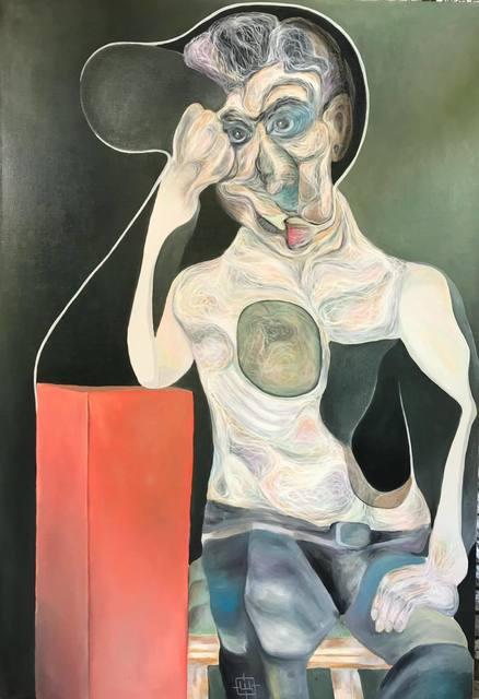 , 'Luminous near the Red Pedestal ,' 2017, Art Acacia