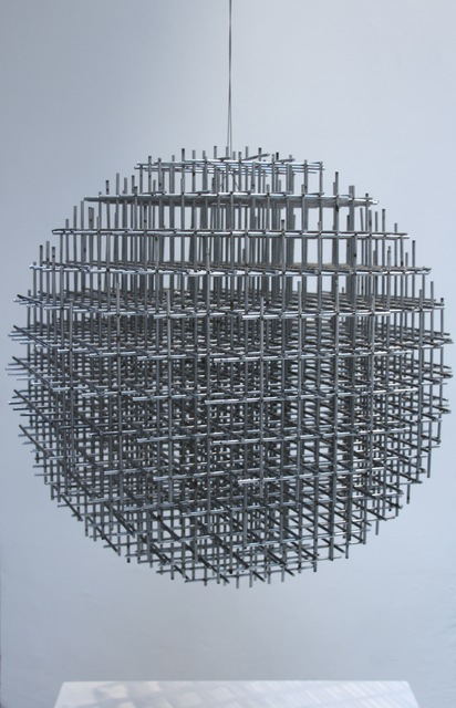 , 'sphère-trame,' 1962, Galerie Denise René