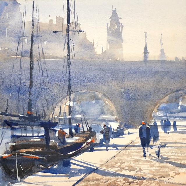 , 'Along the Seine,' , Copley Society of Art