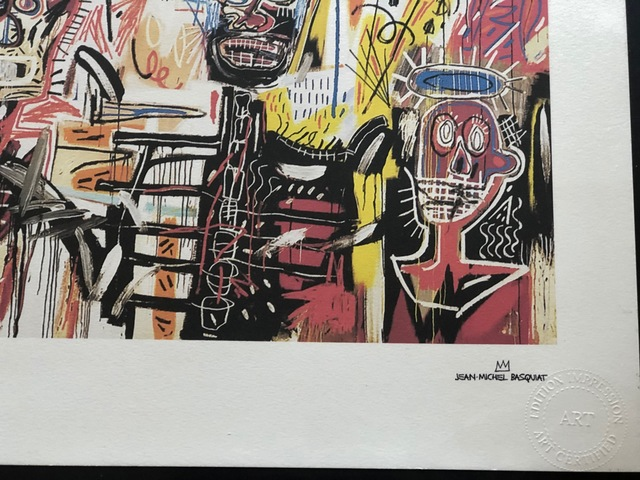 Jean-Michel Basquiat, 'Philistines', 1982, Print, Lithograph, Leviton Fine Art