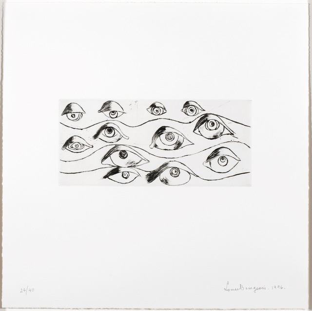 , 'Eyes,' 1996, Marlborough Gallery