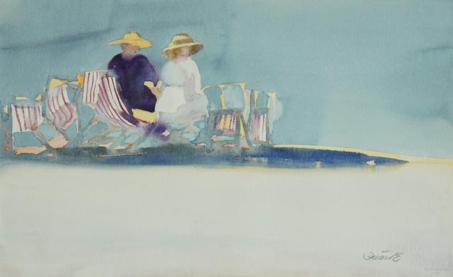 , 'Beach Scene XVII,' 1980-1990, Galerie Bettina