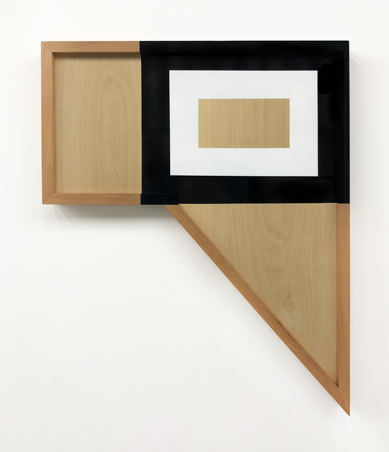 , 'Geometric Composition No. 4 ,' 2018, Casa Triângulo