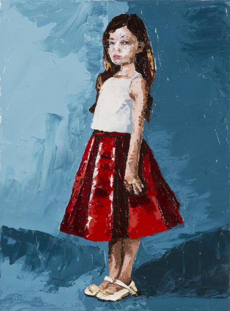 , 'littel girl 1,' 2016, Orit Fuchs