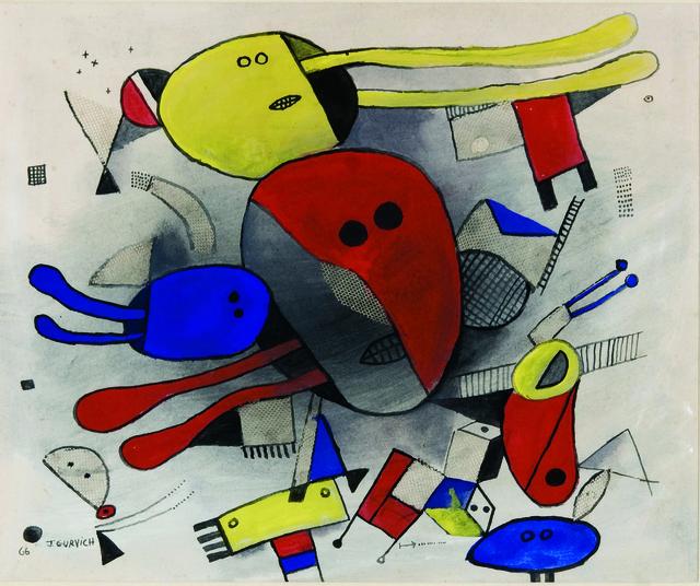 , 'Collage,' 1966, Galería de las Misiones