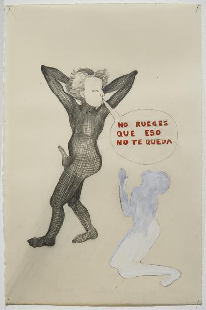Sandra Vásquez de la Horra, ' No rueges que eso no te queda', 2018, Galeria Senda