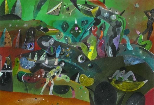 , 'El avance (Gineceo) ,' 1991, Oscar Roman