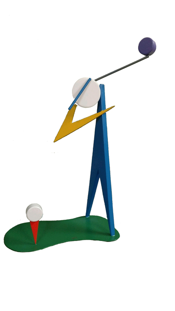 , 'The Golfer,' 2017, Lawrence Fine Art