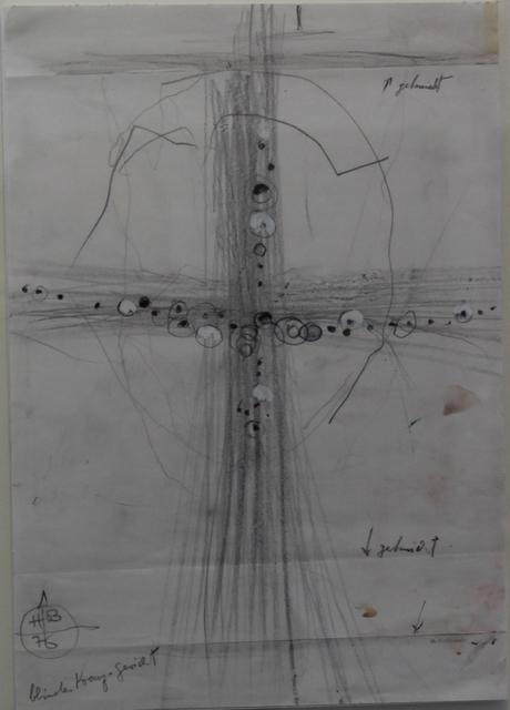 , 'Blindes Kreuz-Gesicht,' 1976, Mario Mauroner Contemporary Art Salzburg-Vienna