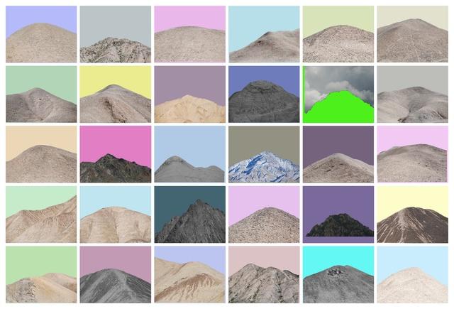, 'Qilian Range - 11,' 2015, Galleria Continua