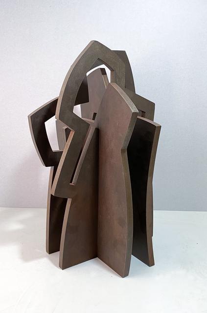 Iñigo Arregi, 'Untitled', 2021, Sculpture, Patinated corten steel, Victor Lope Arte Contemporaneo