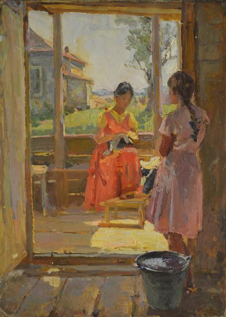 Gennady Georgievich Korolev, 'On the terrace', 1958, Surikov Foundation