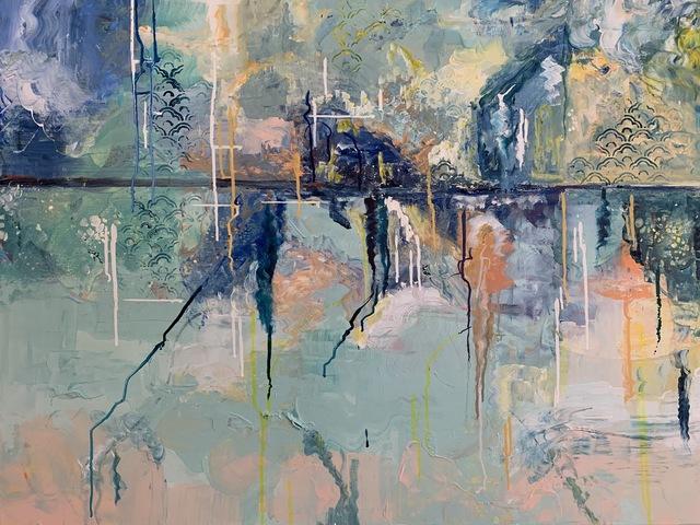 Erin Starr, 'Storm on the Horizon', 2020, Mixed Media, Acrylic, Oil, and Ink, MvVO ART