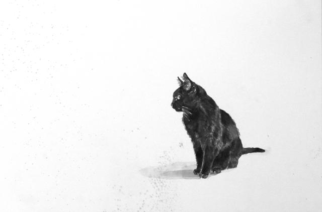 , 'Cat,' 2014, Galerie Krinzinger