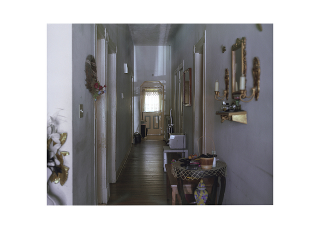 , '1219 Oakwood Ave, A Picture of the Hallway Standing From the Entrance of the Front Door in Direction of the Back Door. Two Years. (from the series Some Other Places We've Missed),' 2012, Cantor Fitzgerald Gallery, Haverford College
