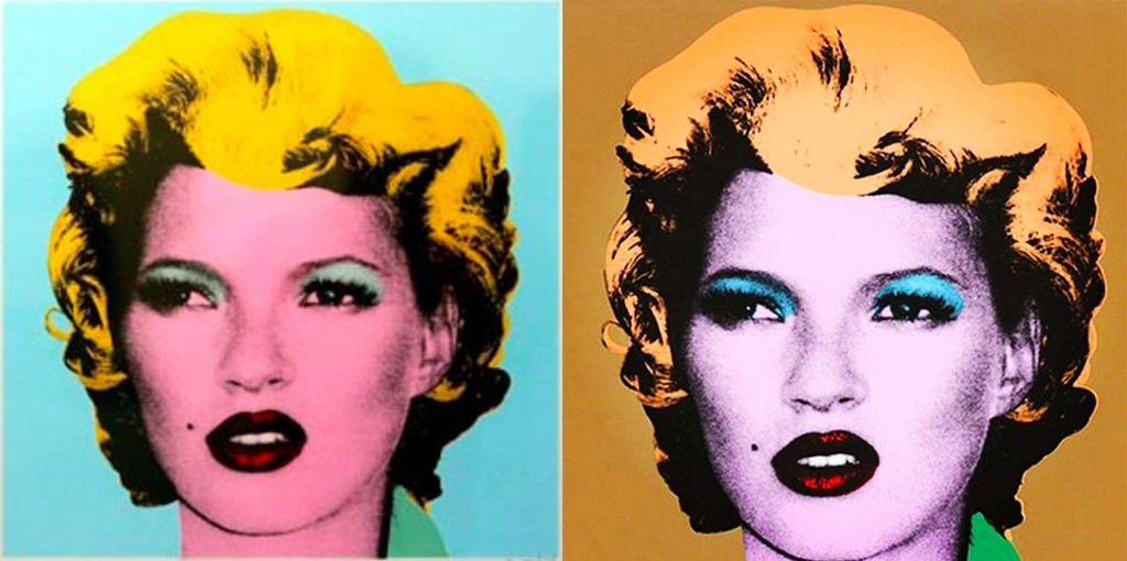 Kate Moss Prints by Banksy Available