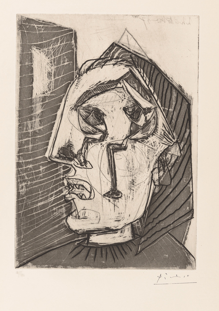 Pablo Picasso, 'Weeping Woman in Front of a Wall', 1937, Christopher-Clark Fine Art