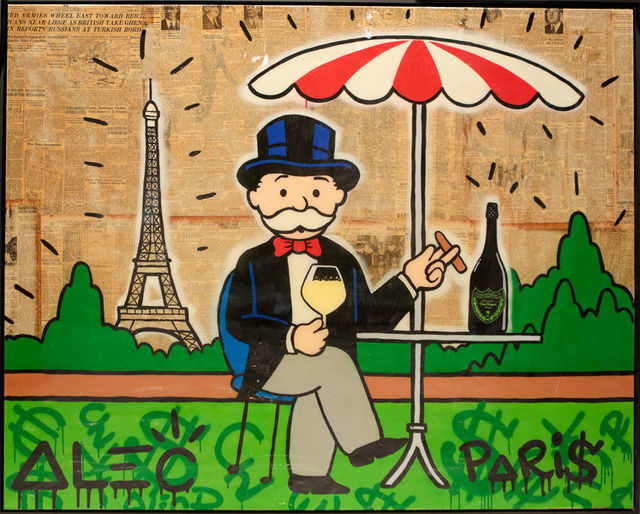 , 'Monopoly Paris with Champagne and Cigar ,' 2018, Eden Fine Art