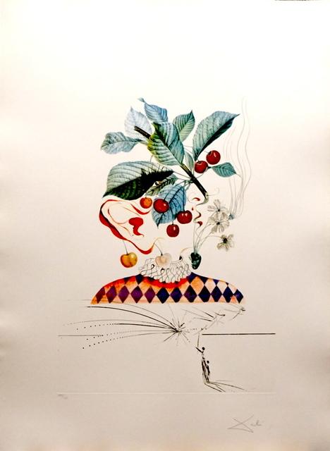 Salvador Dalí, 'FLorDali/Les Fruits Cherries', 1969, Print, Etching, Fine Art Acquisitions Dali
