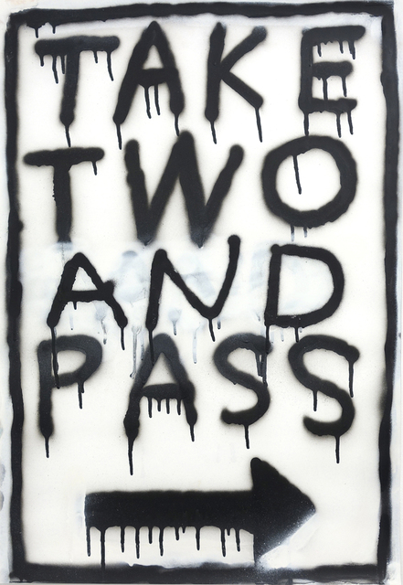 , 'Road Sign #1,' 2013, CLEAR EDITION & GALLERY