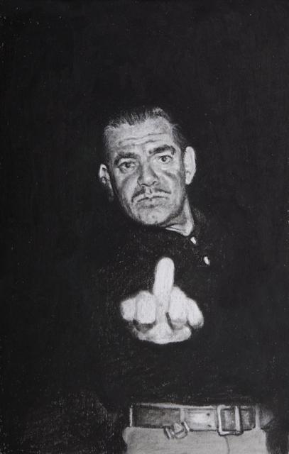, 'Clark Gable,' 2017, Cob