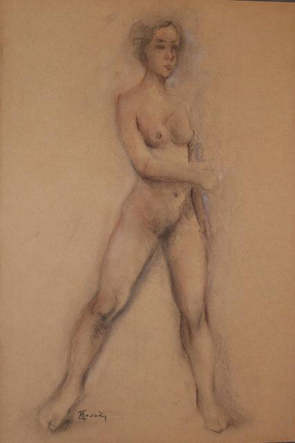 , 'Frontal Nude ,' 2008, Galeria Canoa
