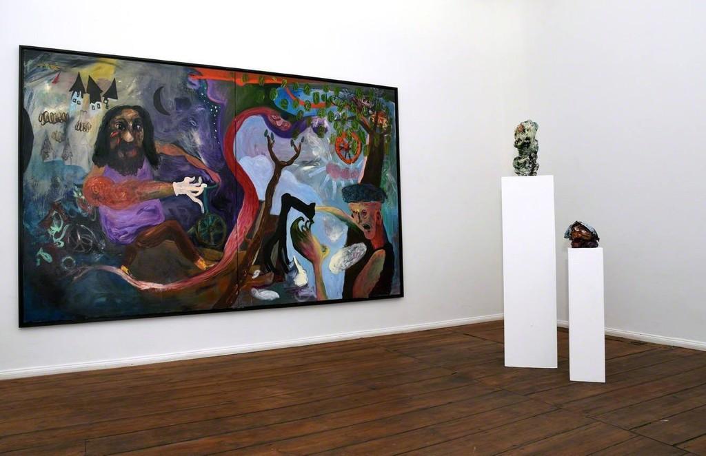Janes Schmallenberg, 2016, installation view at Grimmuseum