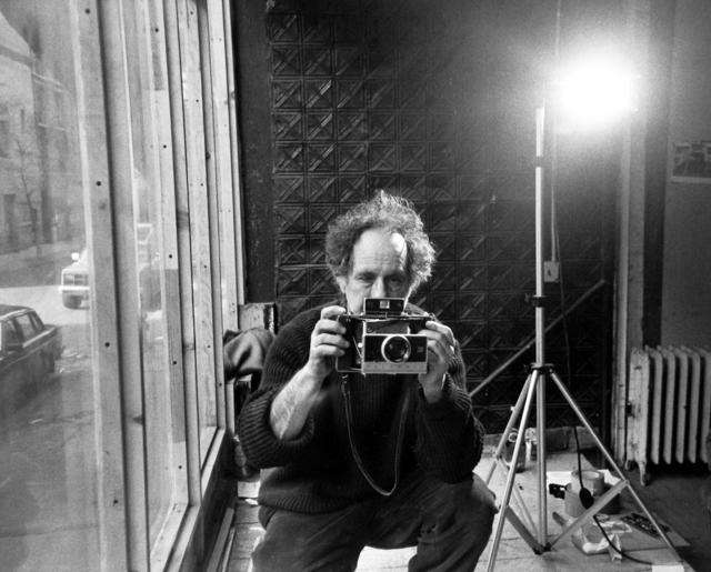 Allen Ginsberg, 'Robert Frank in his studio, New York City', 1984, Howard Greenberg Gallery