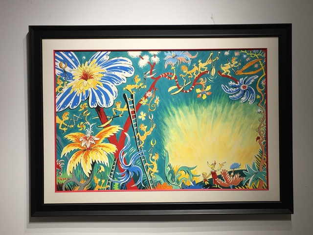 Dr. Seuss, 'Dr. Seuss, A Plethora of Flowers', 1990-1999, Oliver Cole Gallery