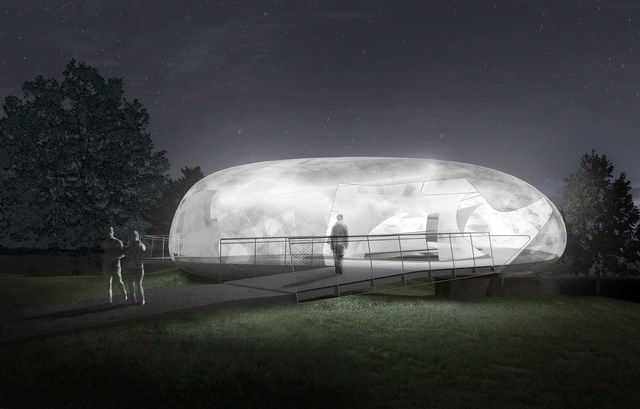 , 'Serpentine Galleries Pavilion, Indicative CGI, night,' 2014, Serpentine Galleries