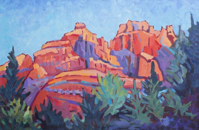 ", '""Vibrant Sedona"",' 2015, Bonner David Galleries"