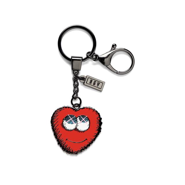 KAWS, 'KAWS x NGV Heart Keychain', 2019, Curator Style