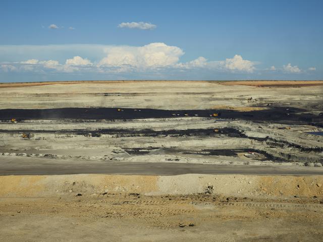 , 'Coal #1,' 2017, Galerie Fontana