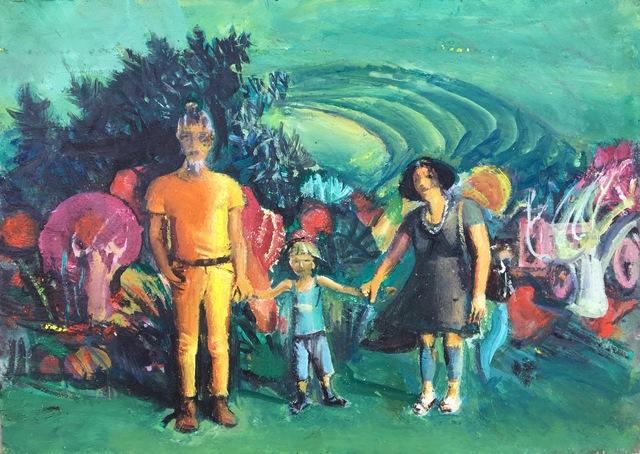 , 'Family in Imaginary Landscape,' 2018, Robert Kananaj Gallery