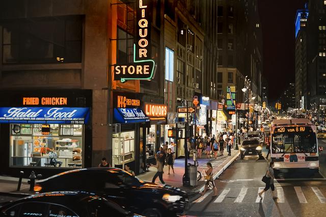 , '8th Avenue,' 2018, Modernism Inc.